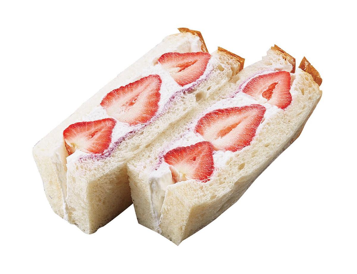 「ル ビアン」苺サンド